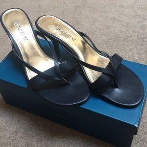 Fabulaire navy heels